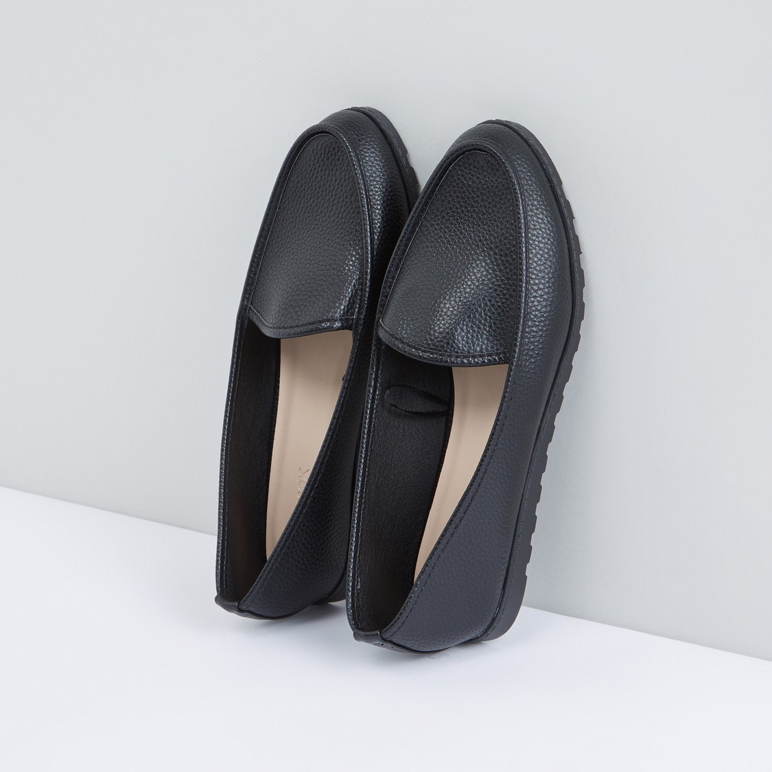 Textured Slip On Shoes