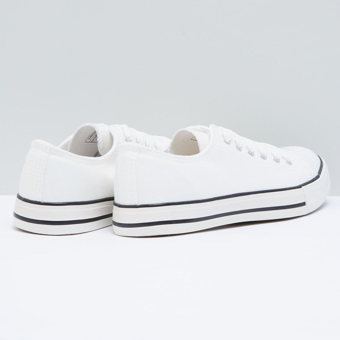 Lace-Up Canvas Shoes