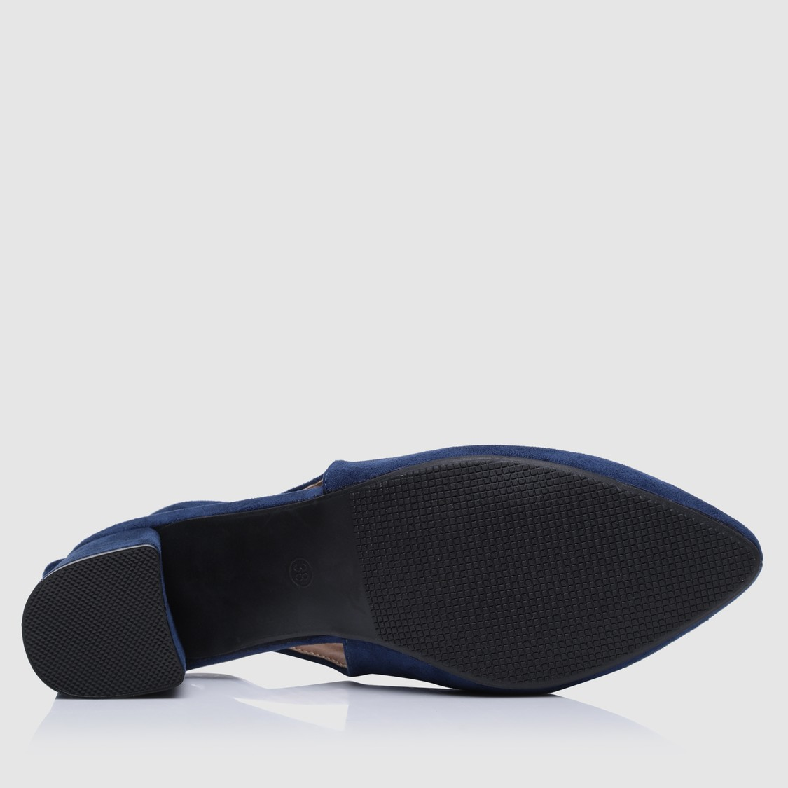 Slip-On Formal Shoes with Block Heels