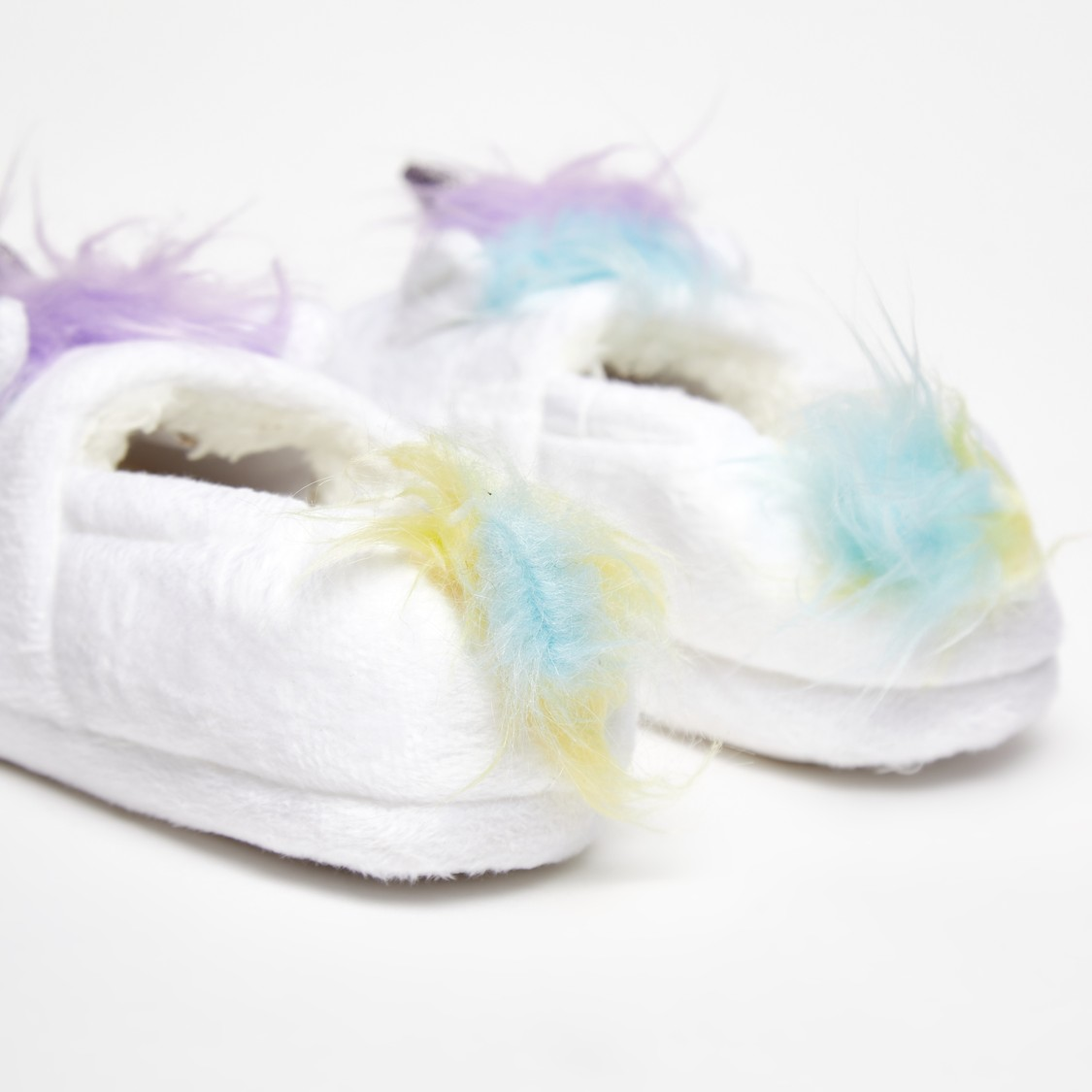 Plush Detail Bedroom Slippers