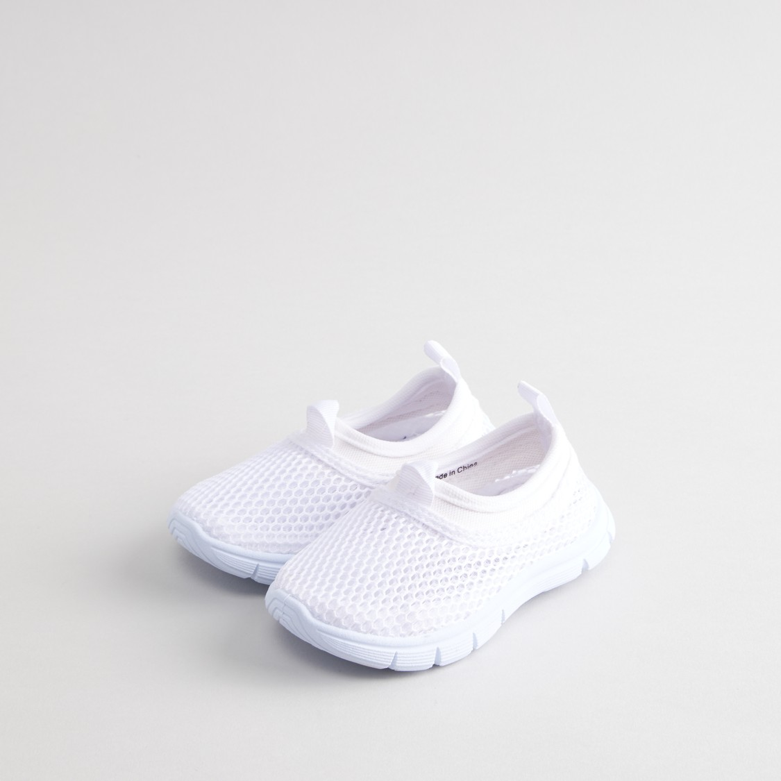 Textured Slip-On Canvas Shoes