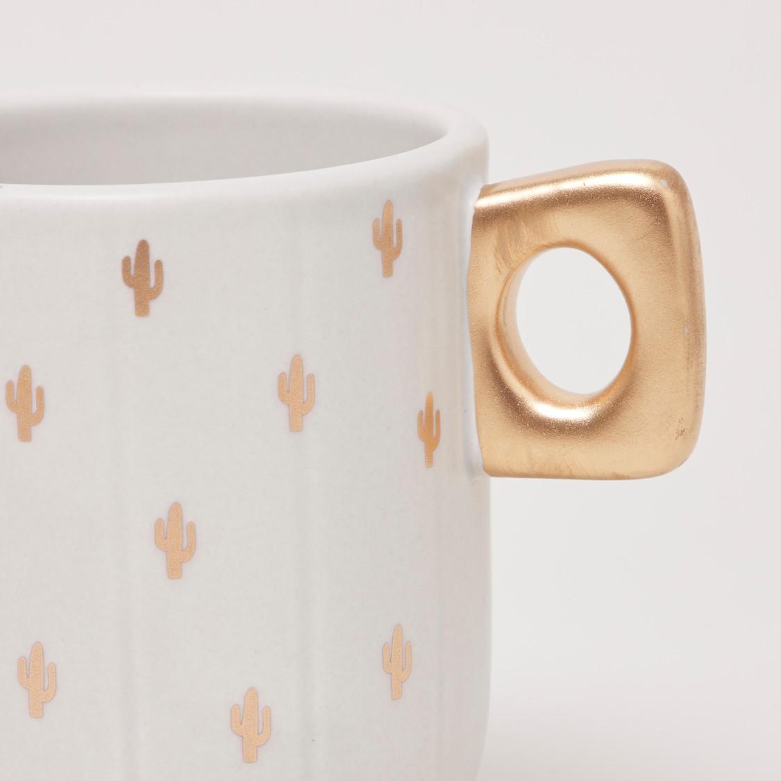 Printed Mug with Keyhole Handle