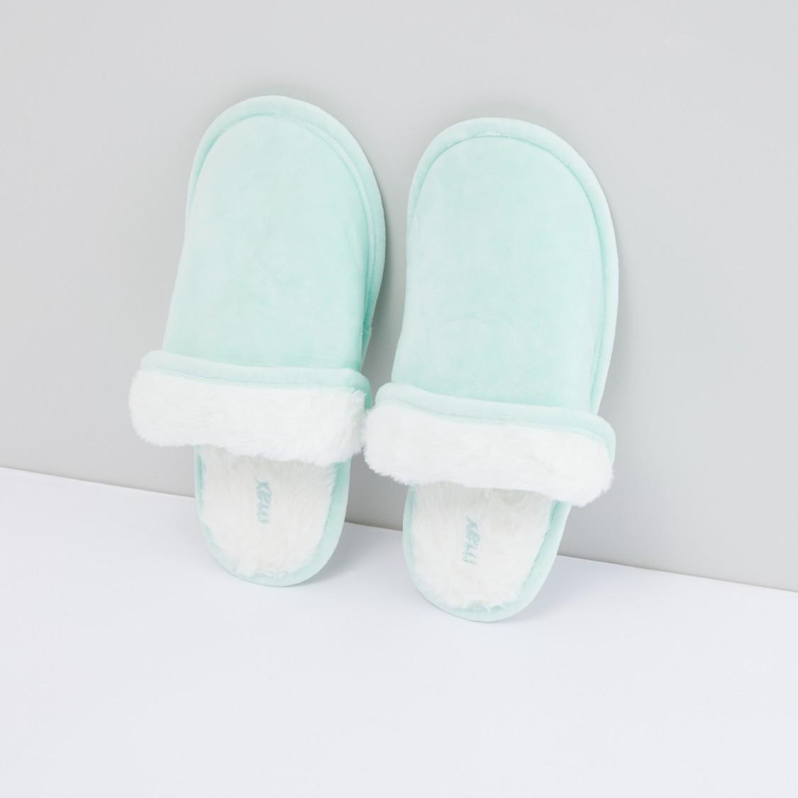 Plush Bedroom Slides