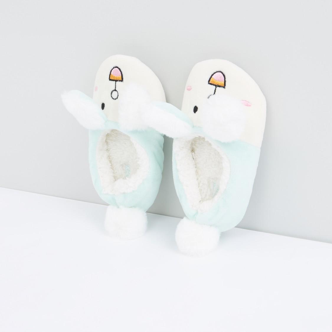 حذاء غرفة نوم سهل الارتداء قطيفة