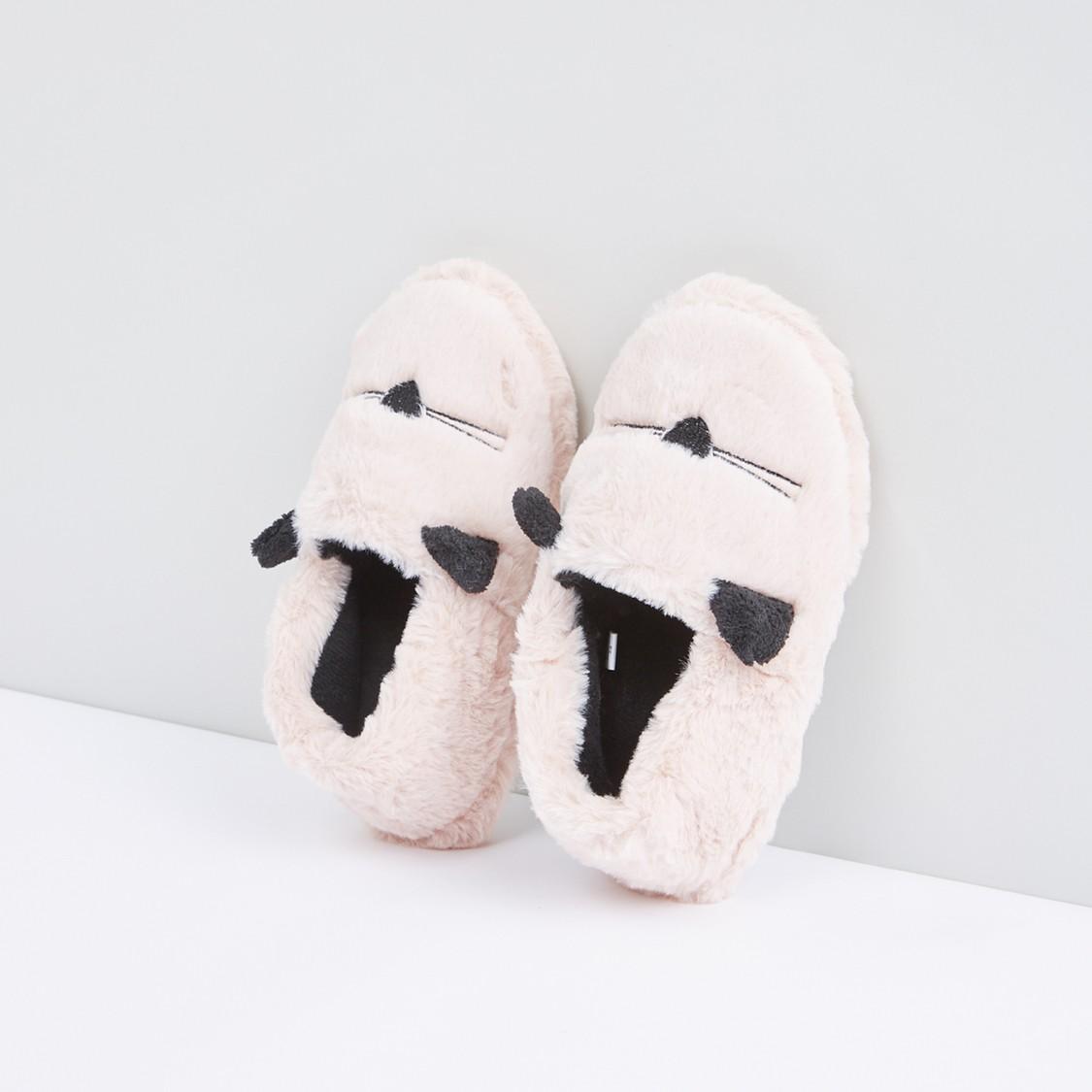 حذاء غرفة نوم قطيفة سهل الارتداء