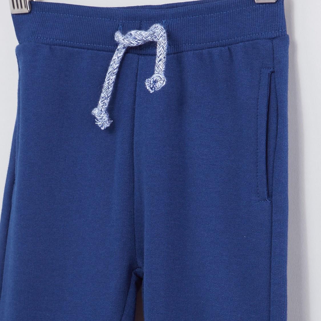 Jog Pants with Pocket Detail and Drawstring