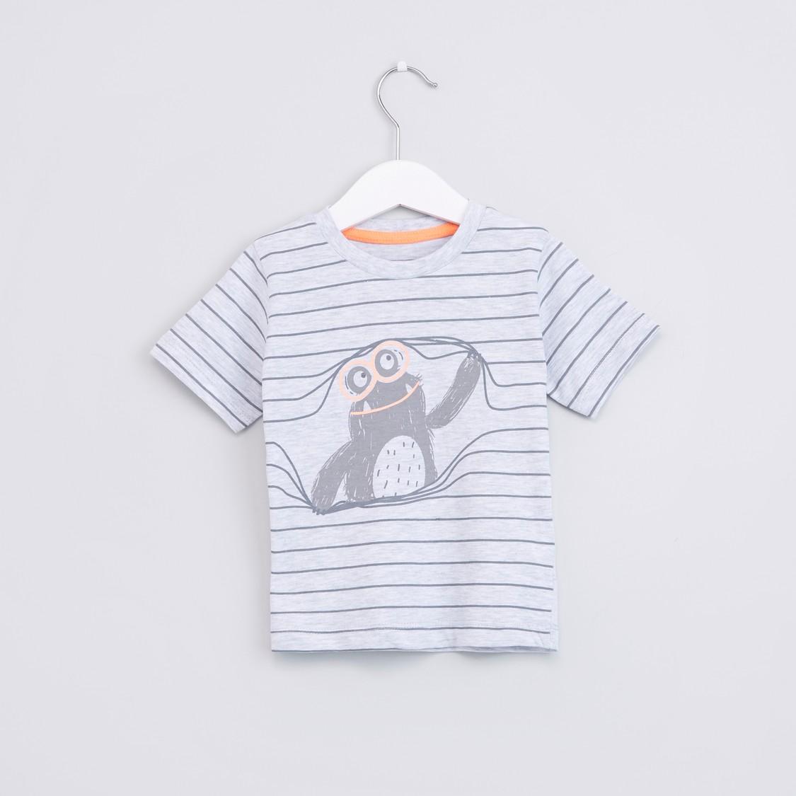 Striped Short Sleeves T-Shirt