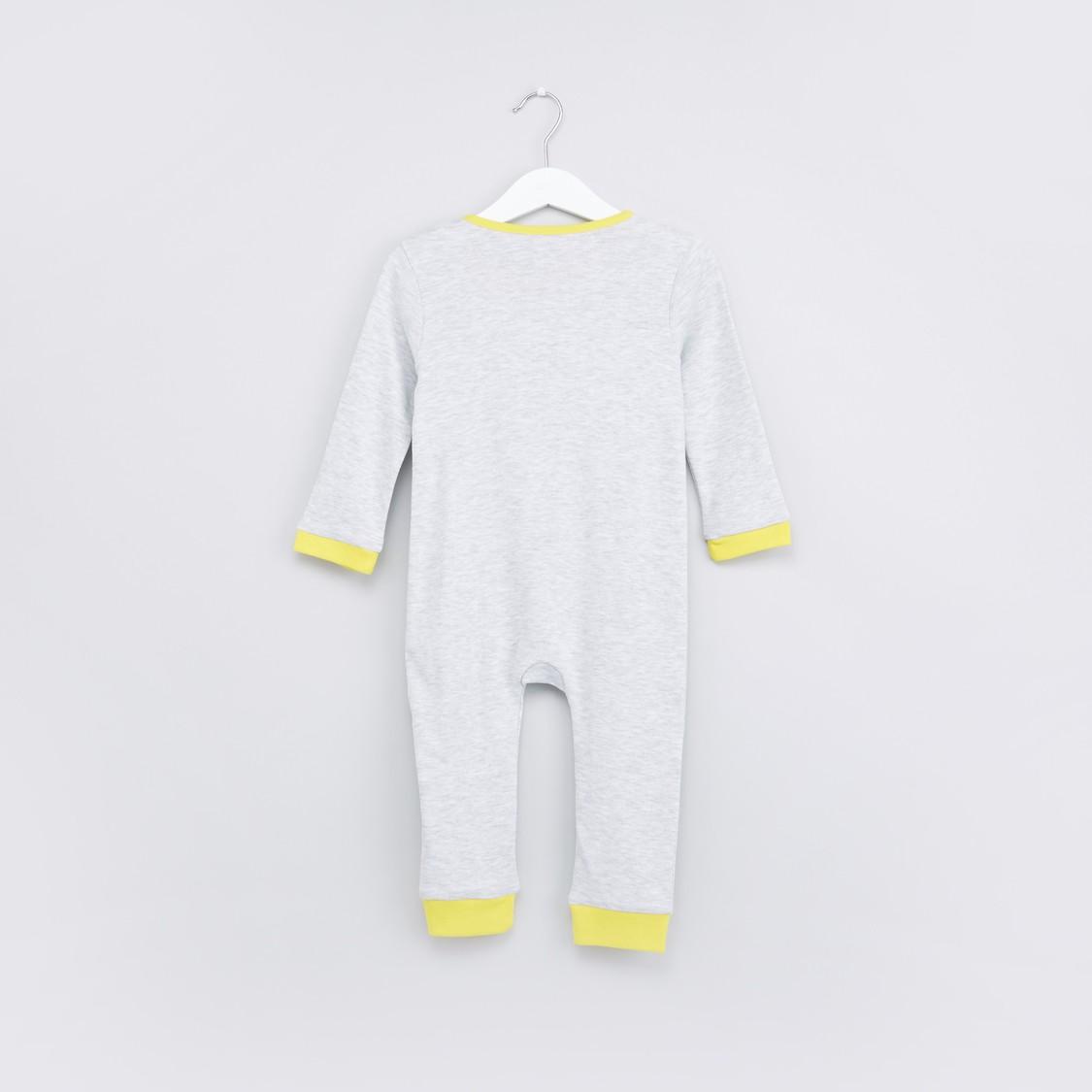 Printed 3-Piece Bodysuit Set