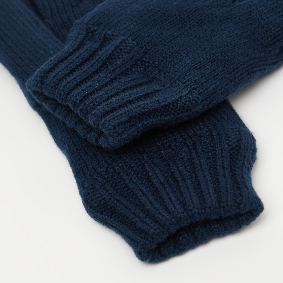 Solid Knitted Gloves