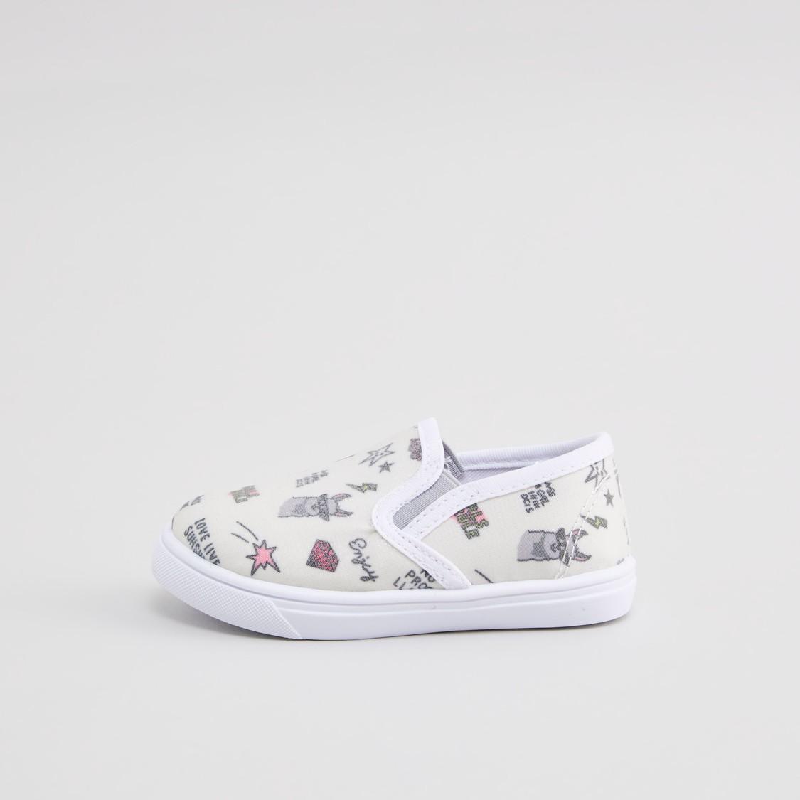 حذاء سهل الارتداء باطراف مطاطية