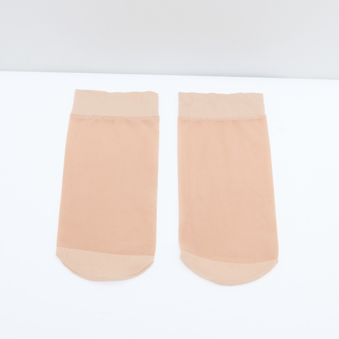 Socks with Ribbed Cuffs - Set of 10