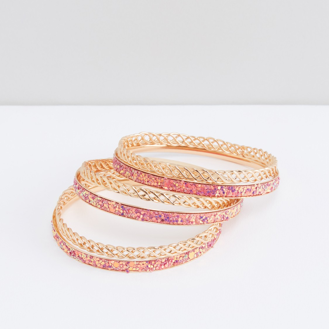 Decorative Bangle - Set of 6