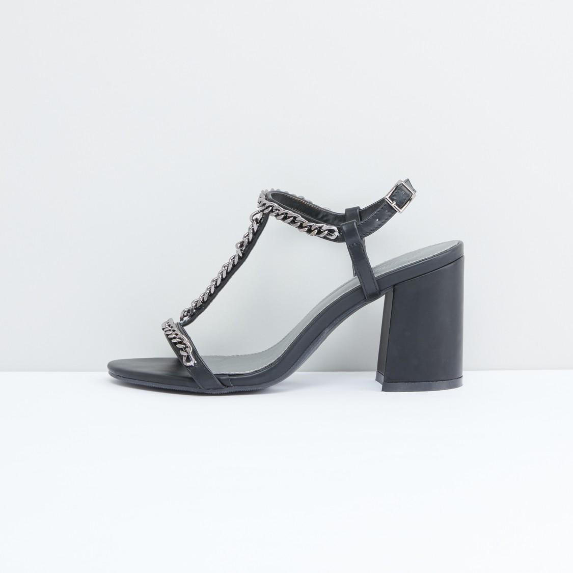 Chain Detail Sandals