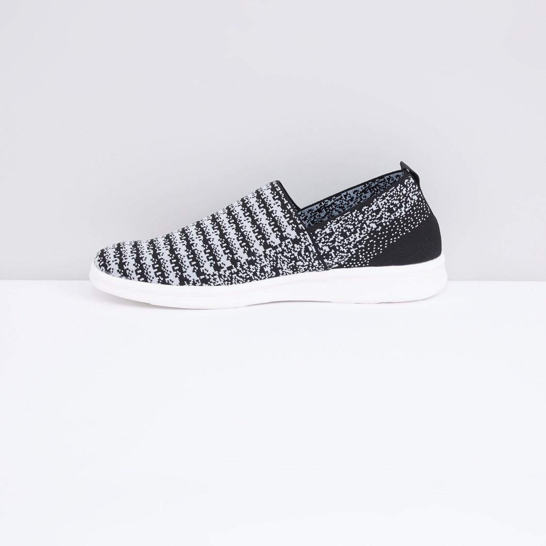 Printed Slip-On Sneakers