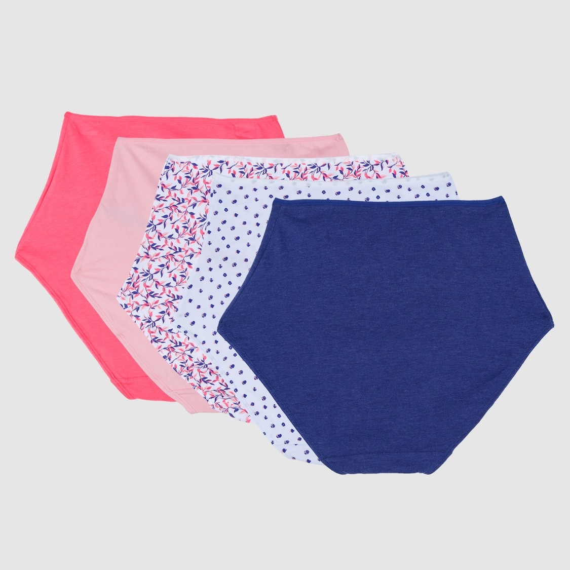 Briefs with Elasticised Waistband - Set of 5