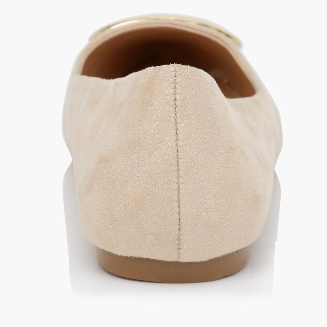 Ballerina Shoes with Applique