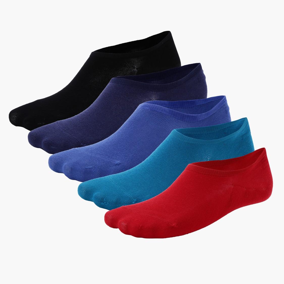 No Show Socks - Set of 5