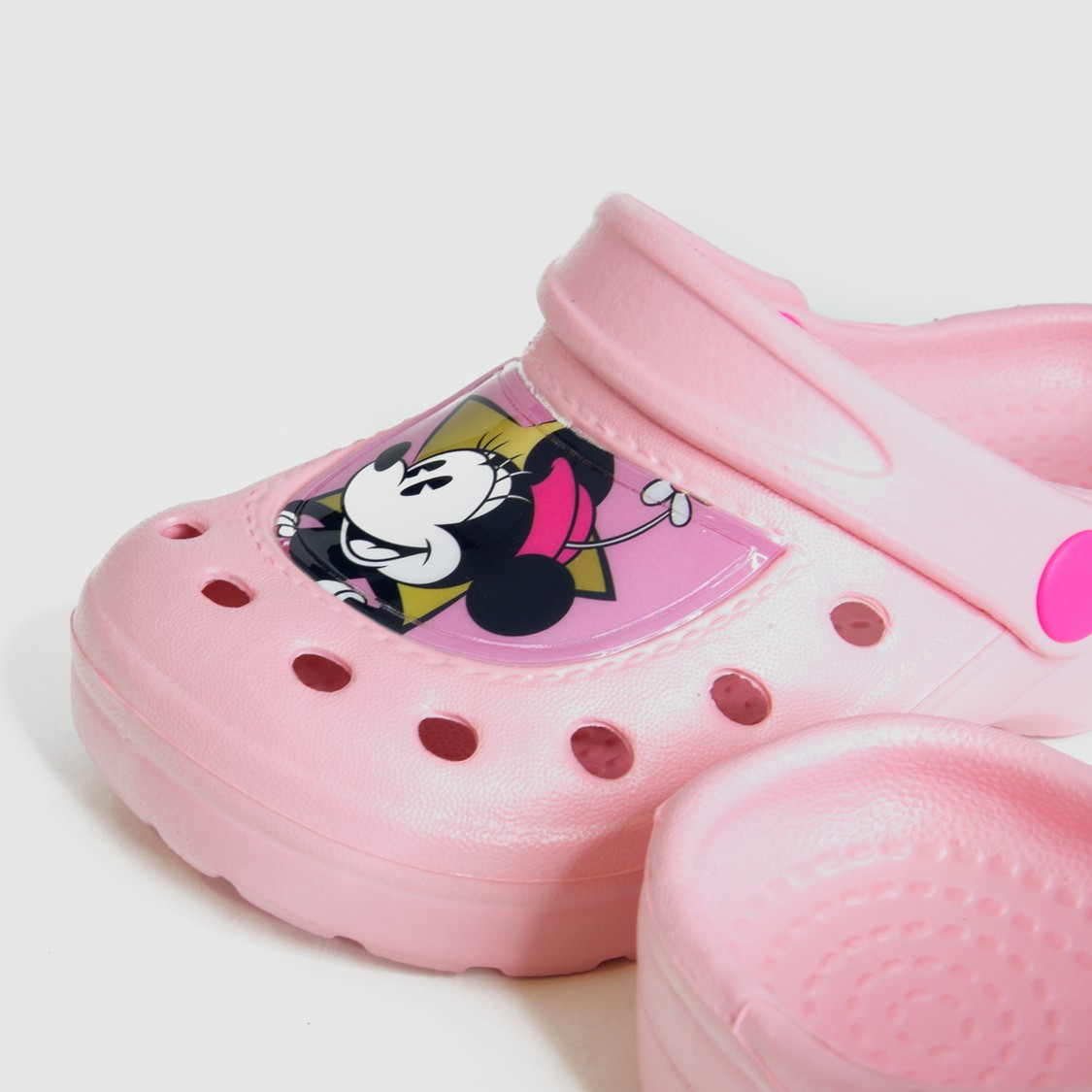 Minnie Mouse Print Clogs