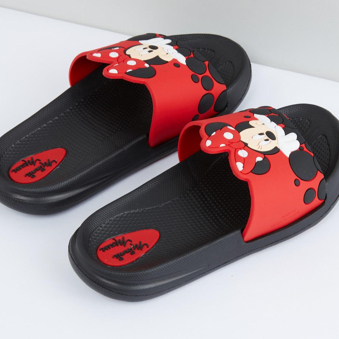 Minnie Mouse Applique Detail Slidess