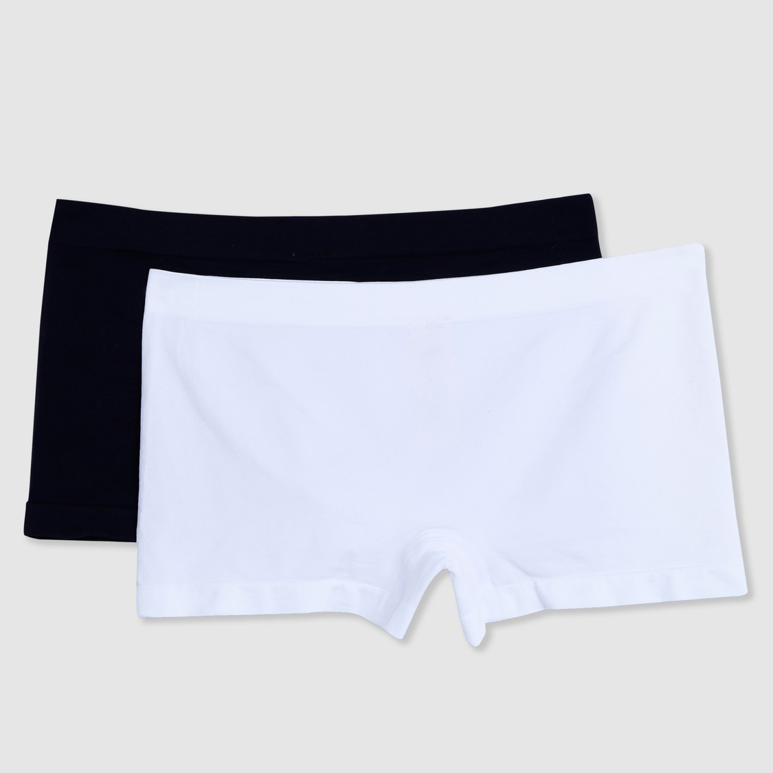 Seamless Briefs with Elasticised Waistband - Set of 2