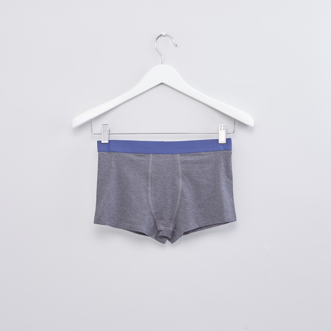 Assorted Boxer Briefs with Elasticised Waistband - Set of 3