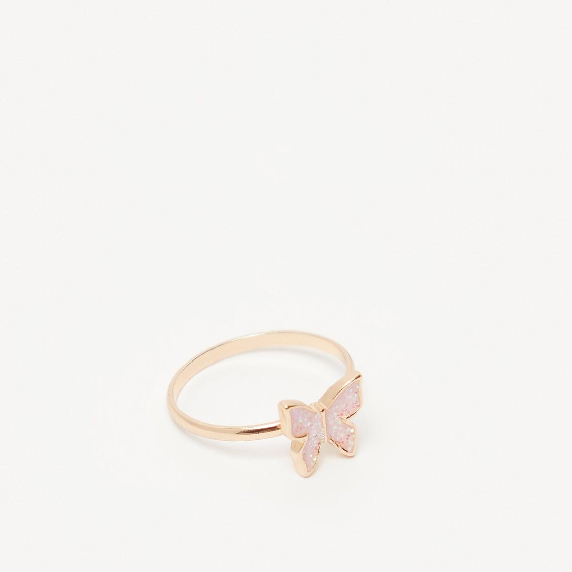 Butterfly Applique 4-Piece Jewellery Set