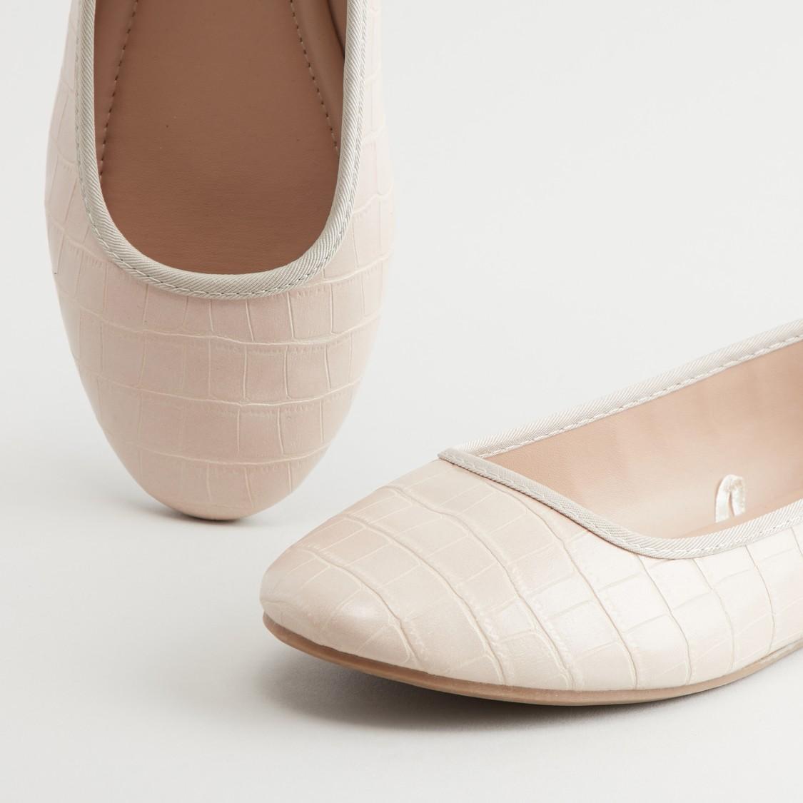 Textured Ballerinas