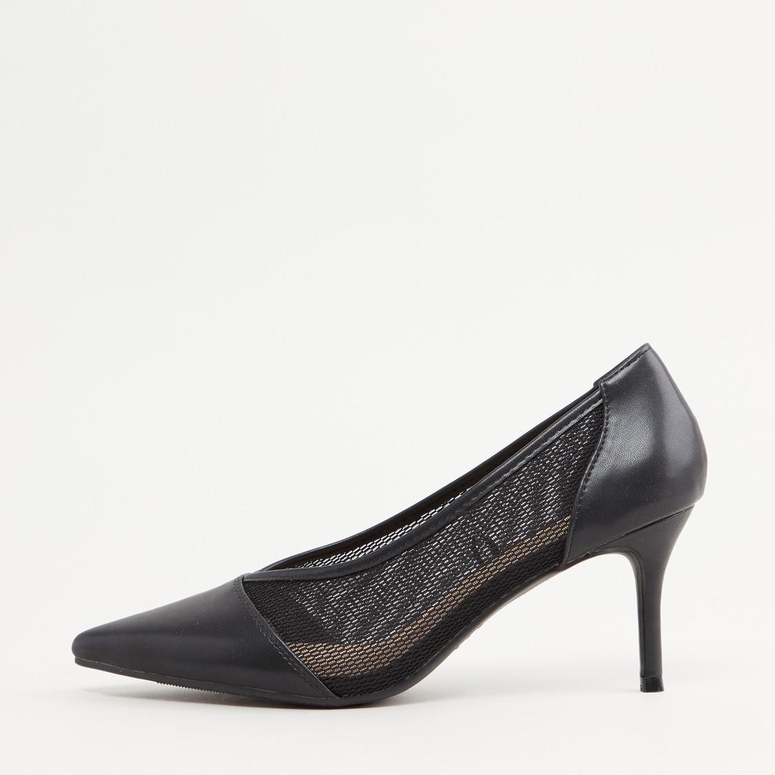 حذاء كلاسيكي بارز الملمس
