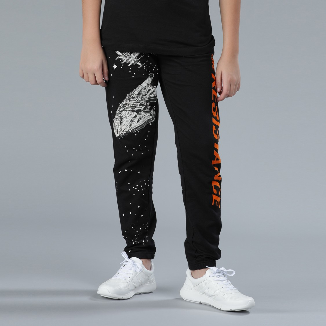 Star Wars Printed Full Length Jog Pants