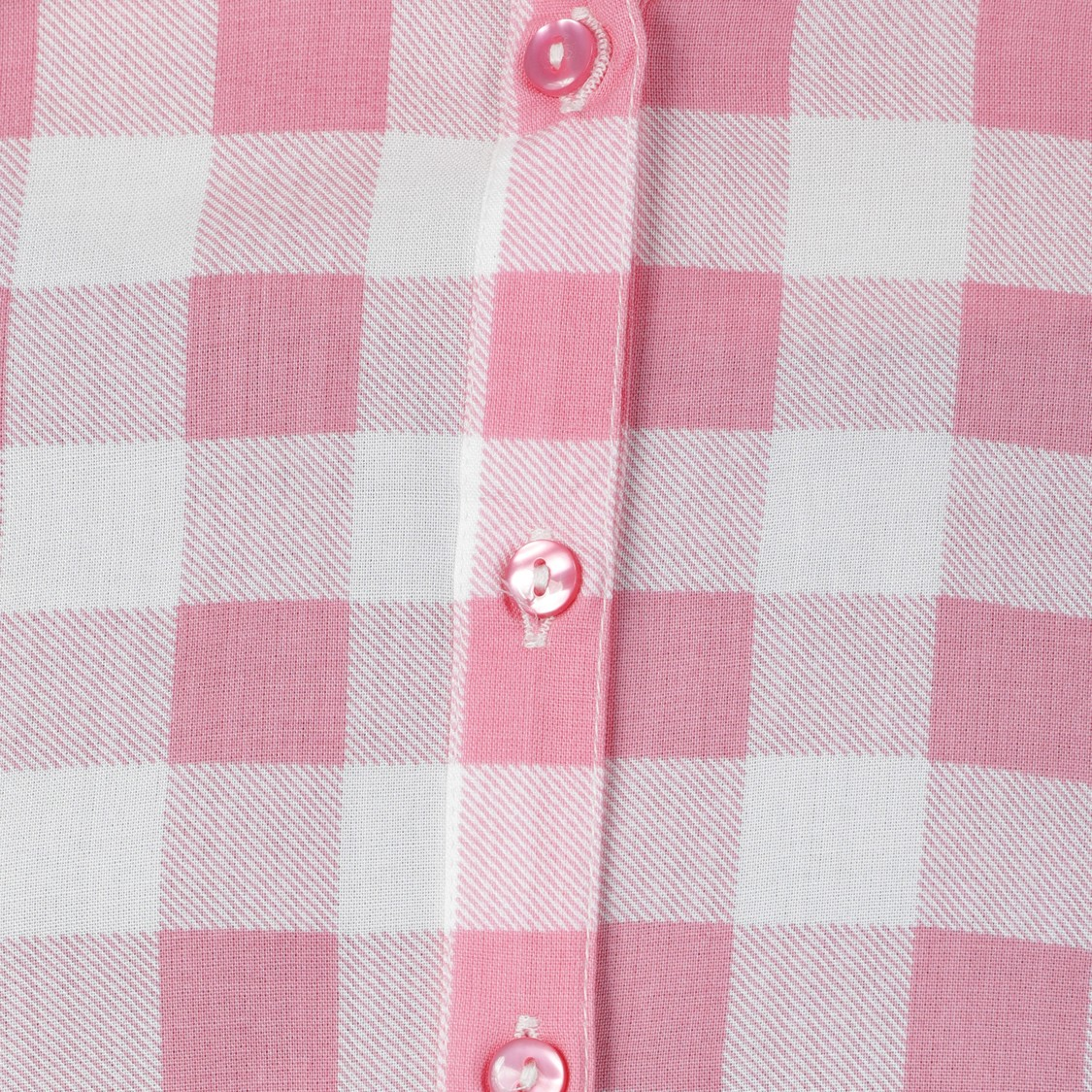Chequered Cold Shoulder Shirt