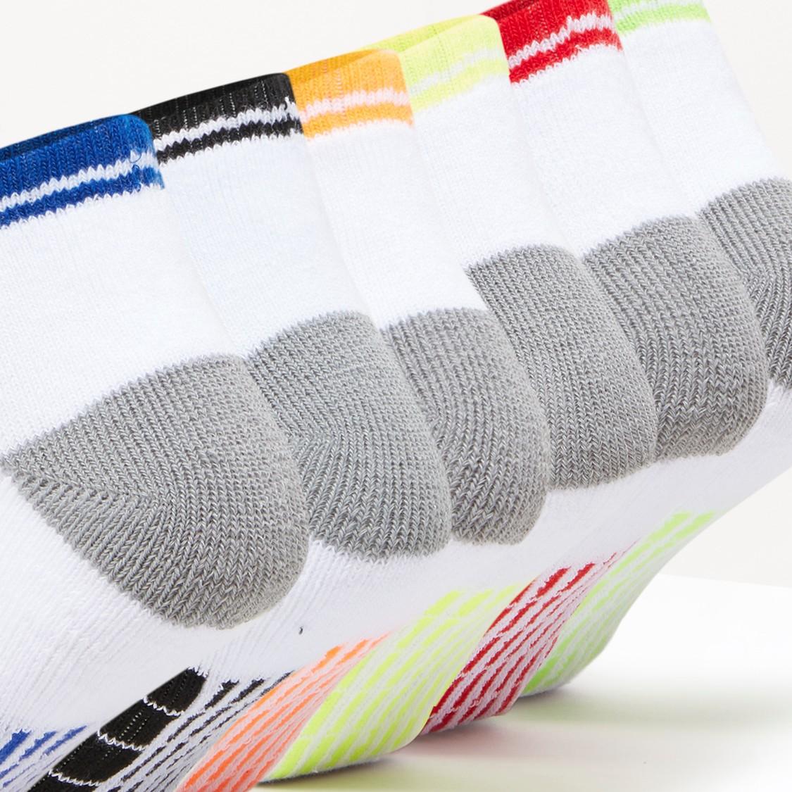 Set of 6 - Ankle Length Socks