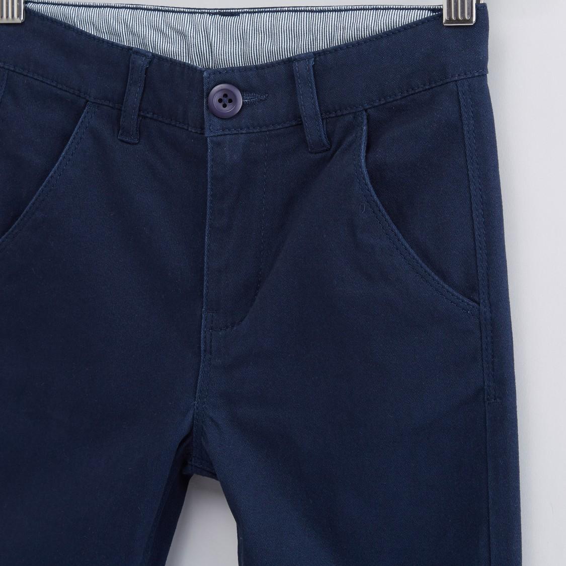 Pocket Detail Chinos