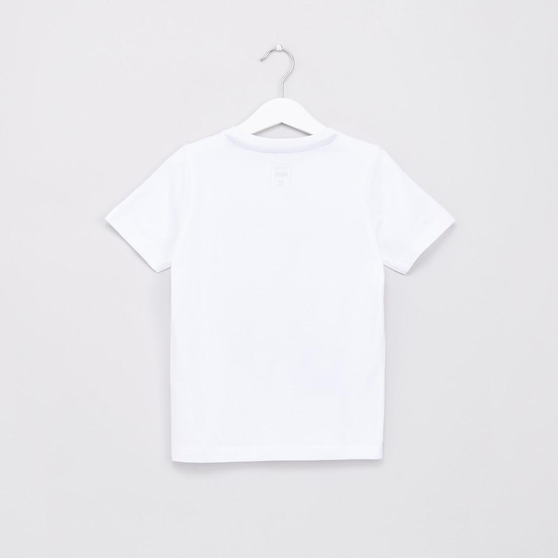 Graphic Printed Short Sleeves T-Shirt