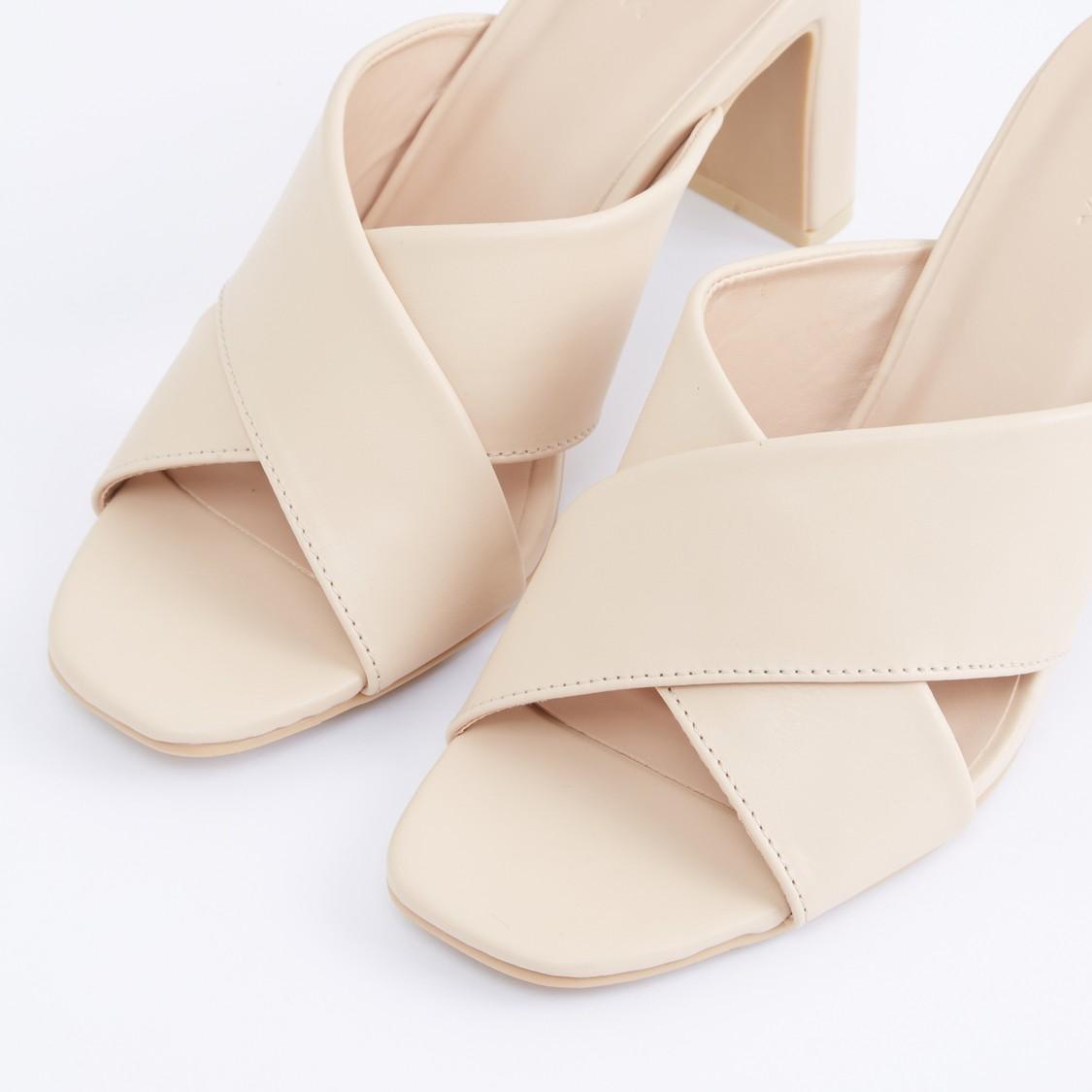 Dual Strap Slip-On Sandals