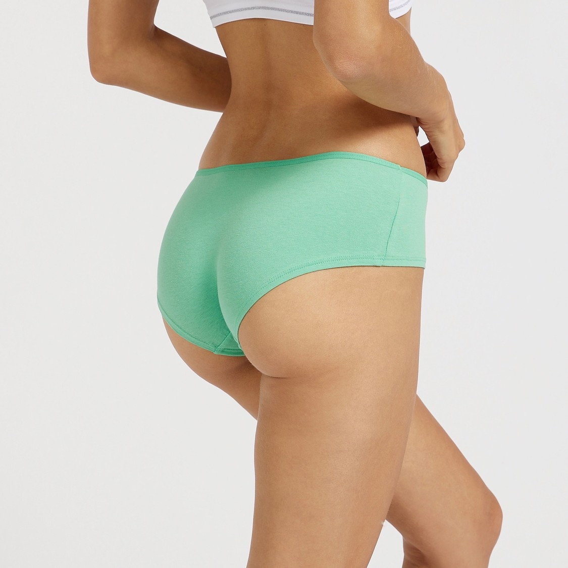 Pack of 5 - Assorted Boyleg Briefs with Elasticised Waistband