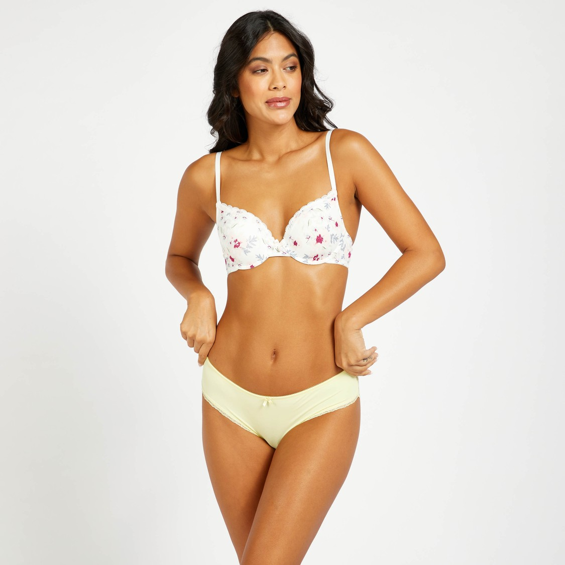 Brazilian Briefs with Bow and Elasticated Waist