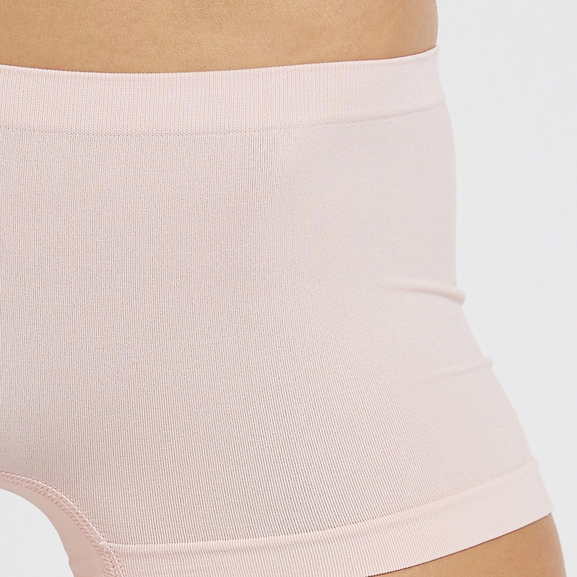 Set of 2 - Solid Shaping Briefs with Elasticised Waistband