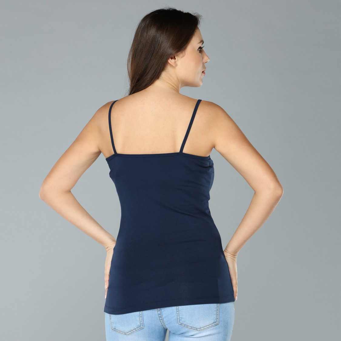 Lace Detail Camisole with Spaghetti Straps