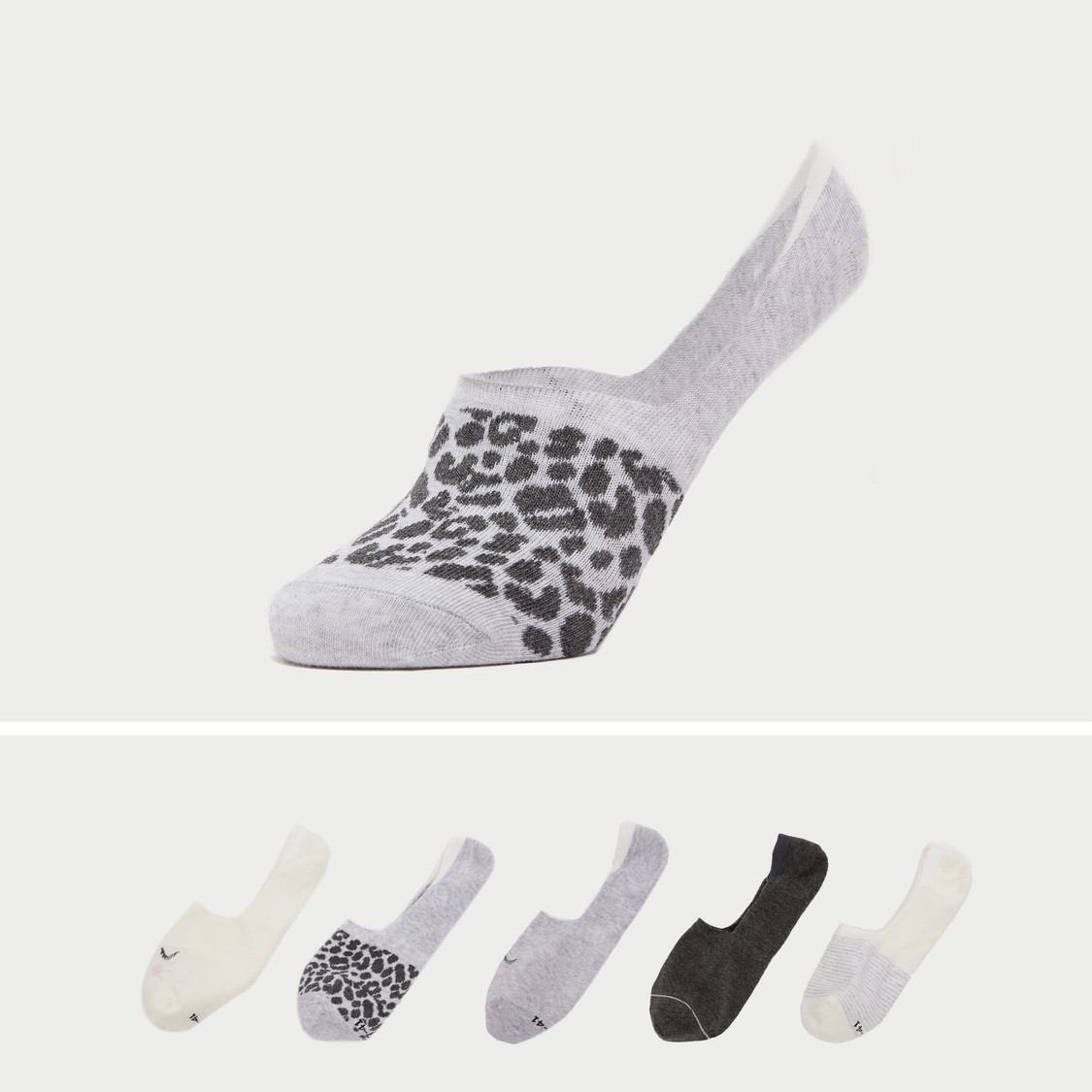 Set of 5 - Assorted Footsies