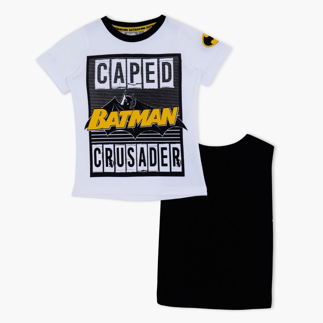 Batman Printed Short Sleeves T-Shirt