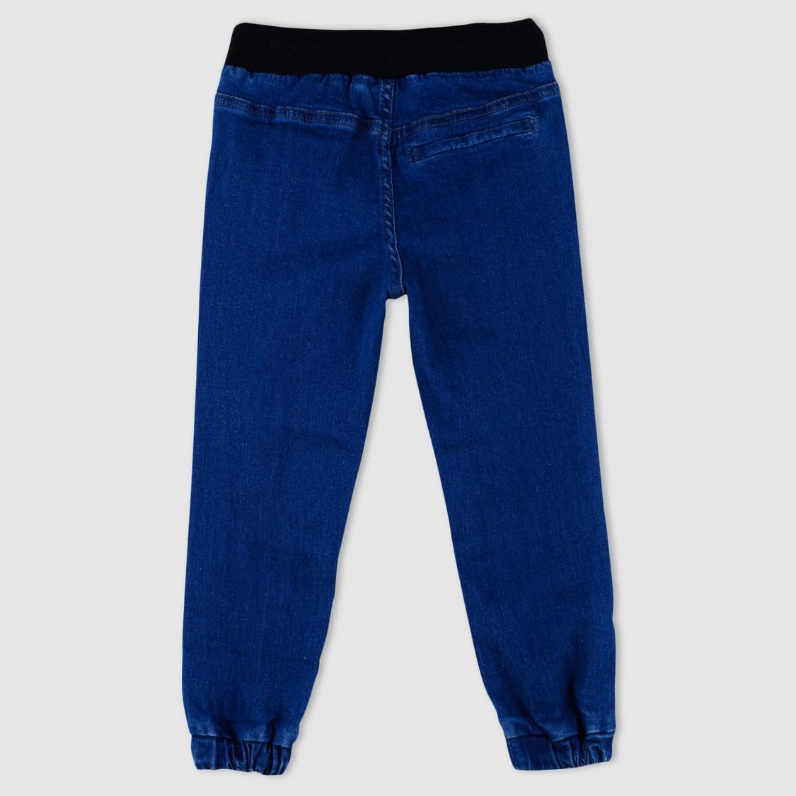 Minion Printed Full Length Jog Pants with Elasticised Waistband