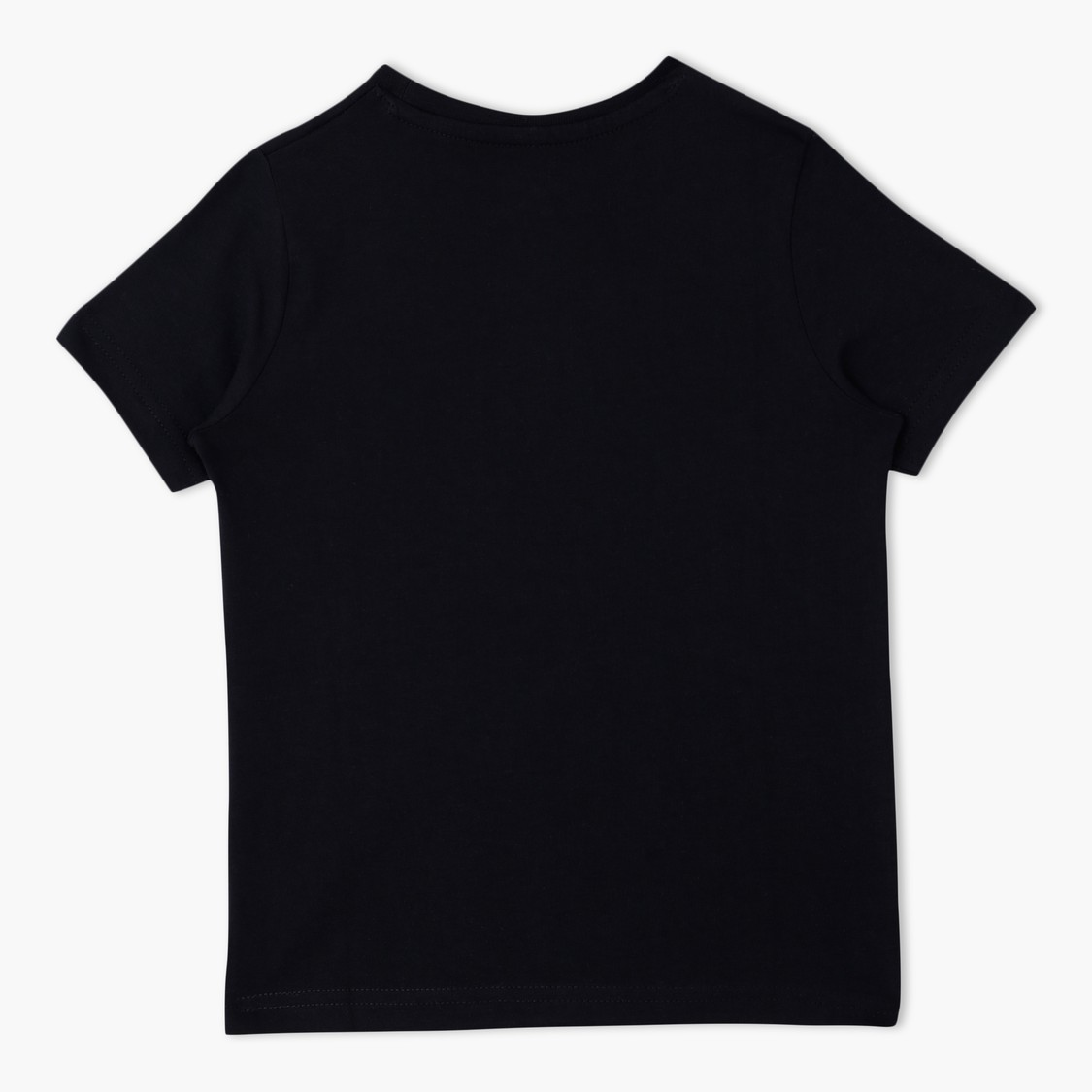 Short Sleeves Round Neck T-Shirt with Chest Pocket