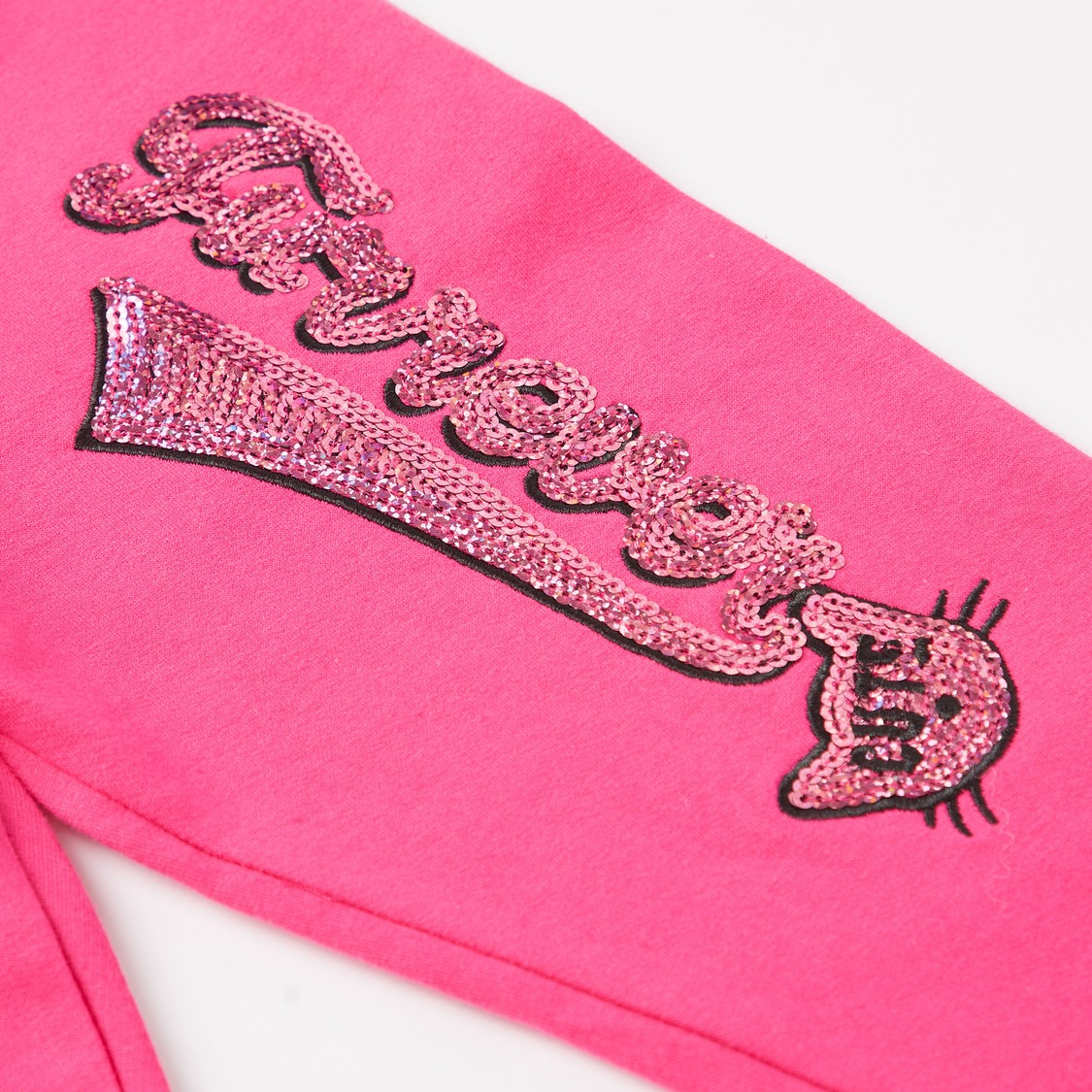 Embellished Sweatshirt and Full Length Jog Pants Set