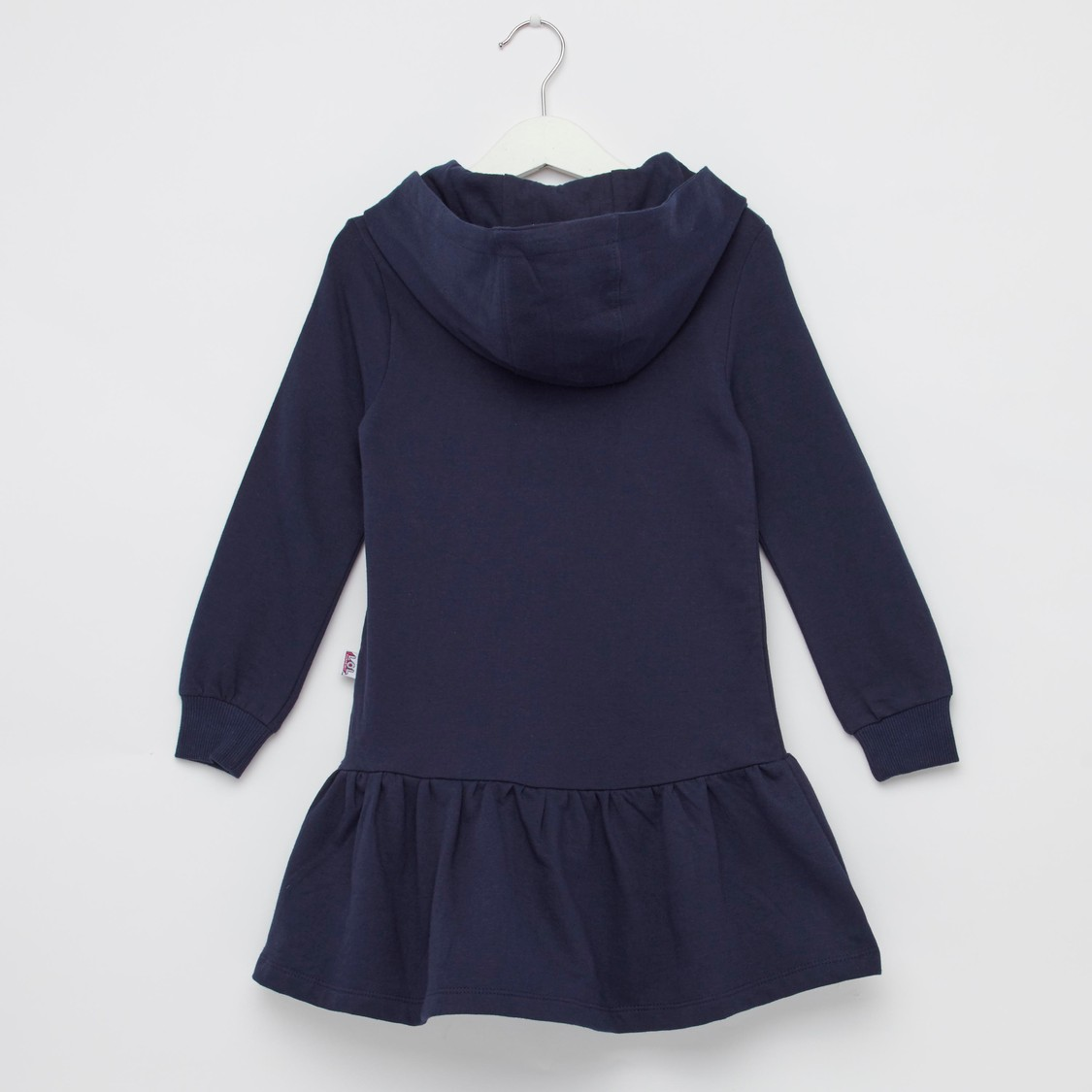 L.O.L. Surprise! Embellished Detail Sweat Dress with Hood
