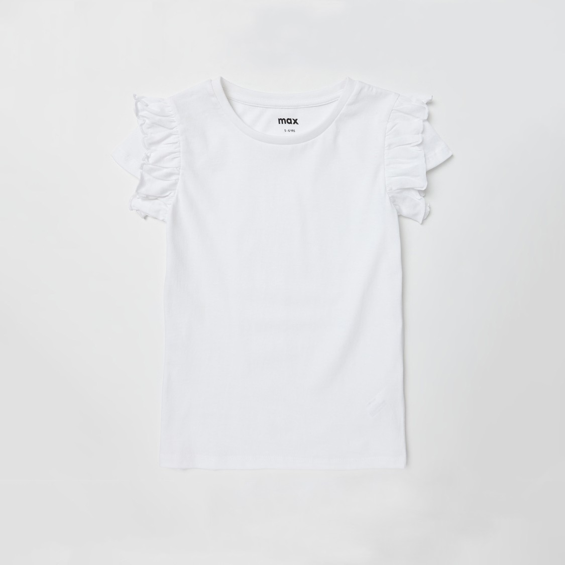 Set of 3 - Assorted T-shirt with Round Neck and Cap Sleeves