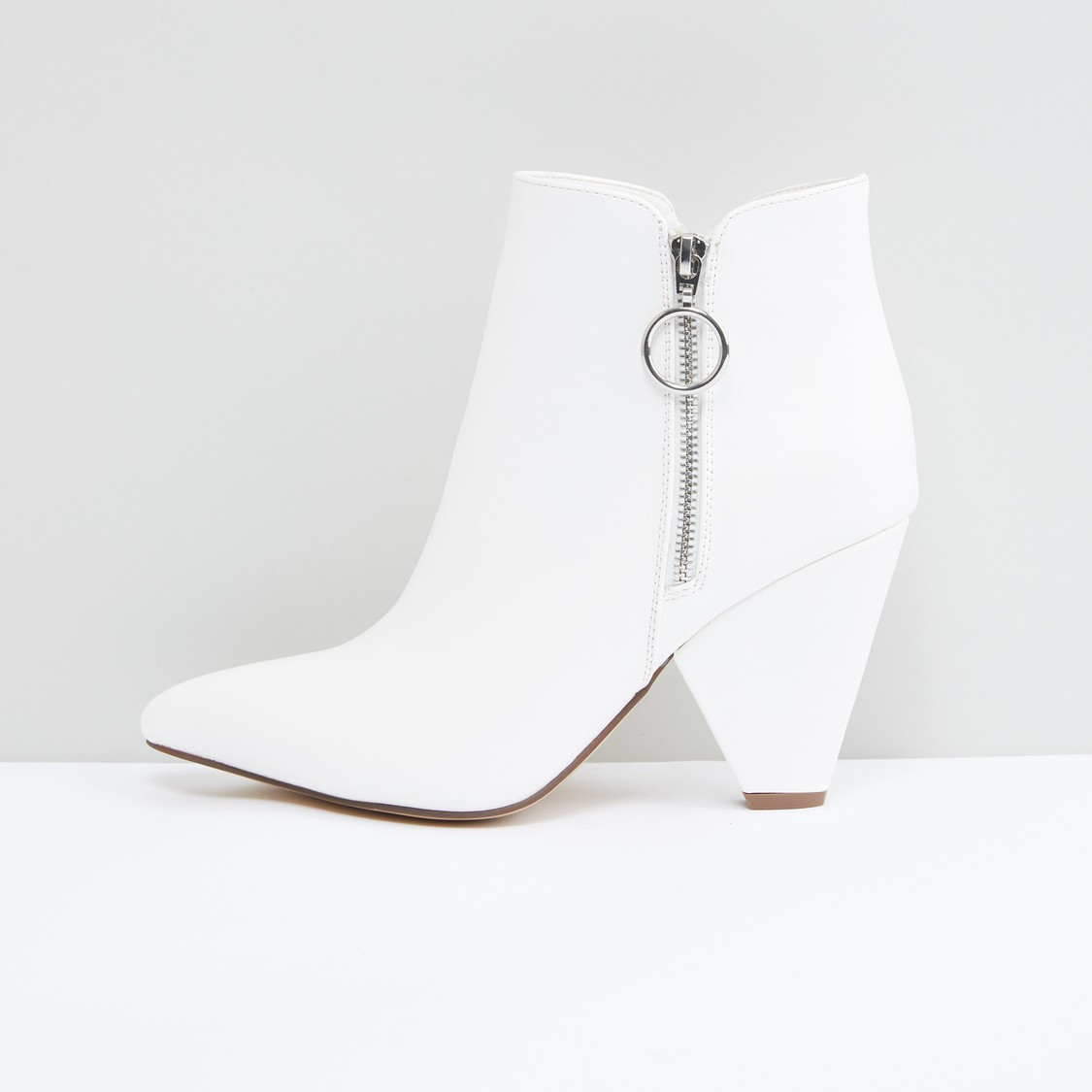 Boots with Zip Closure