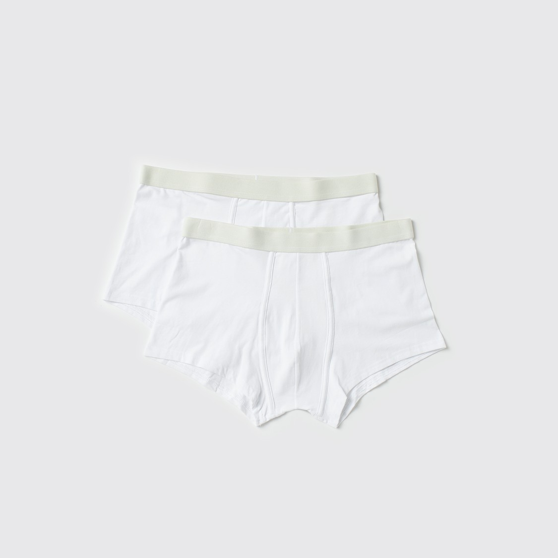 Boxer Briefs with Elasticised Waistband - Set of 2