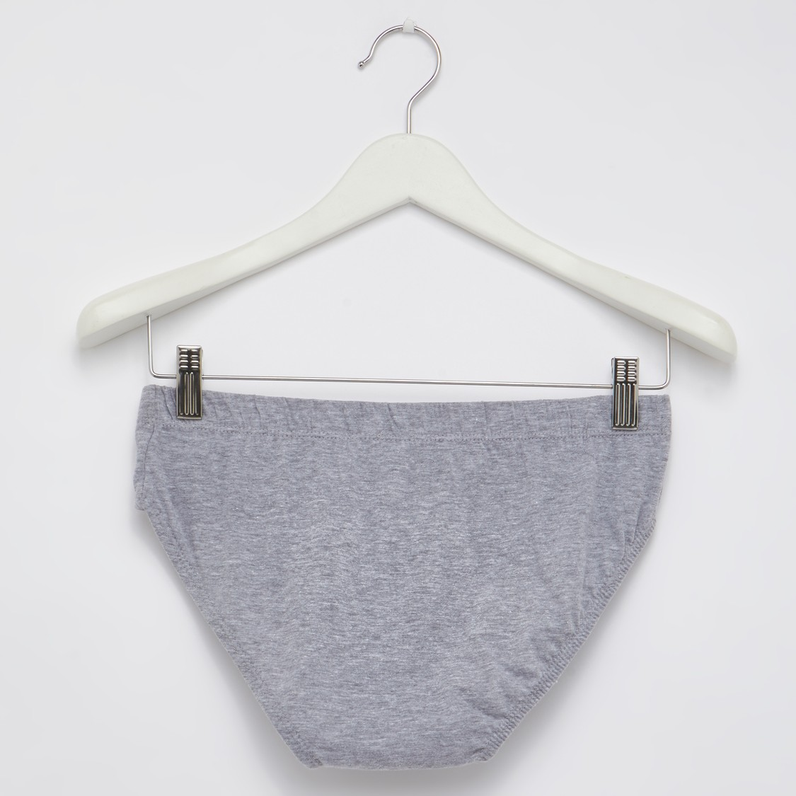 Set of 3 - Solid Briefs with Elasticised Waistband