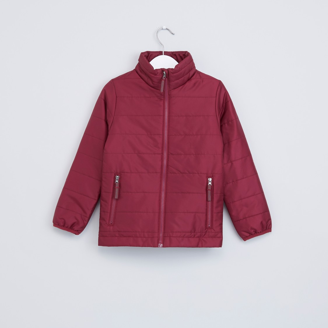 Long Sleeves Puffer Jacket