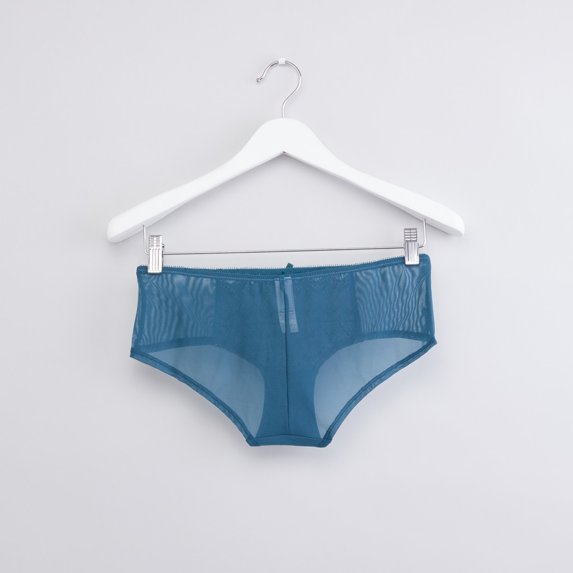 Textured Hipster Briefs with Elasticised Waistband